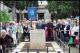 Omaggio al cippo dedicato alla tragedia di Vergarolla